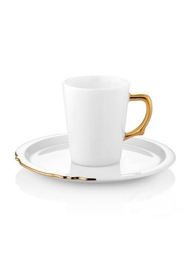 Koleksiyon Eser-İ İstanbul Altın 6'Lı Türk Kahvesi Fincanı Altın